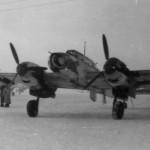 Messerschmitt Bf 110 ZG1 winter