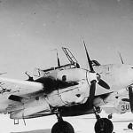 Messerschmitt Bf 110 ZG26 winter