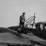 Messerschmitt Bf 110 and pilot
