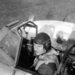 Messerschmitt Bf 110 cockpit pilot