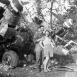 Messerschmitt Bf 110 destroyed
