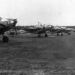 Messerschmitt Bf 110 fighters ZG1