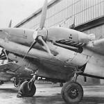 Messerschmitt Bf 110 heavy fighters