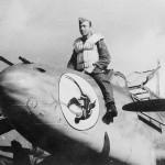 Messerschmitt Bf 110 nose art pilot