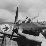 Messerschmitt Bf 110 nose art pilot 2