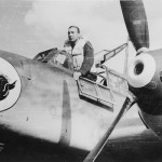 Messerschmitt Bf 110 nose art pilot 3