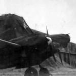 Messerschmitt Bf 110 on airfield