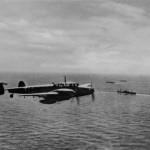 Messerschmitt Bf 110 over sea