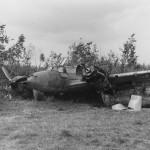 Messerschmitt Bf 110 wreckage