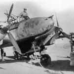 Zerstorer Messerschmitt Bf 110 front view