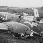 destroyed Messerschmitt Bf110