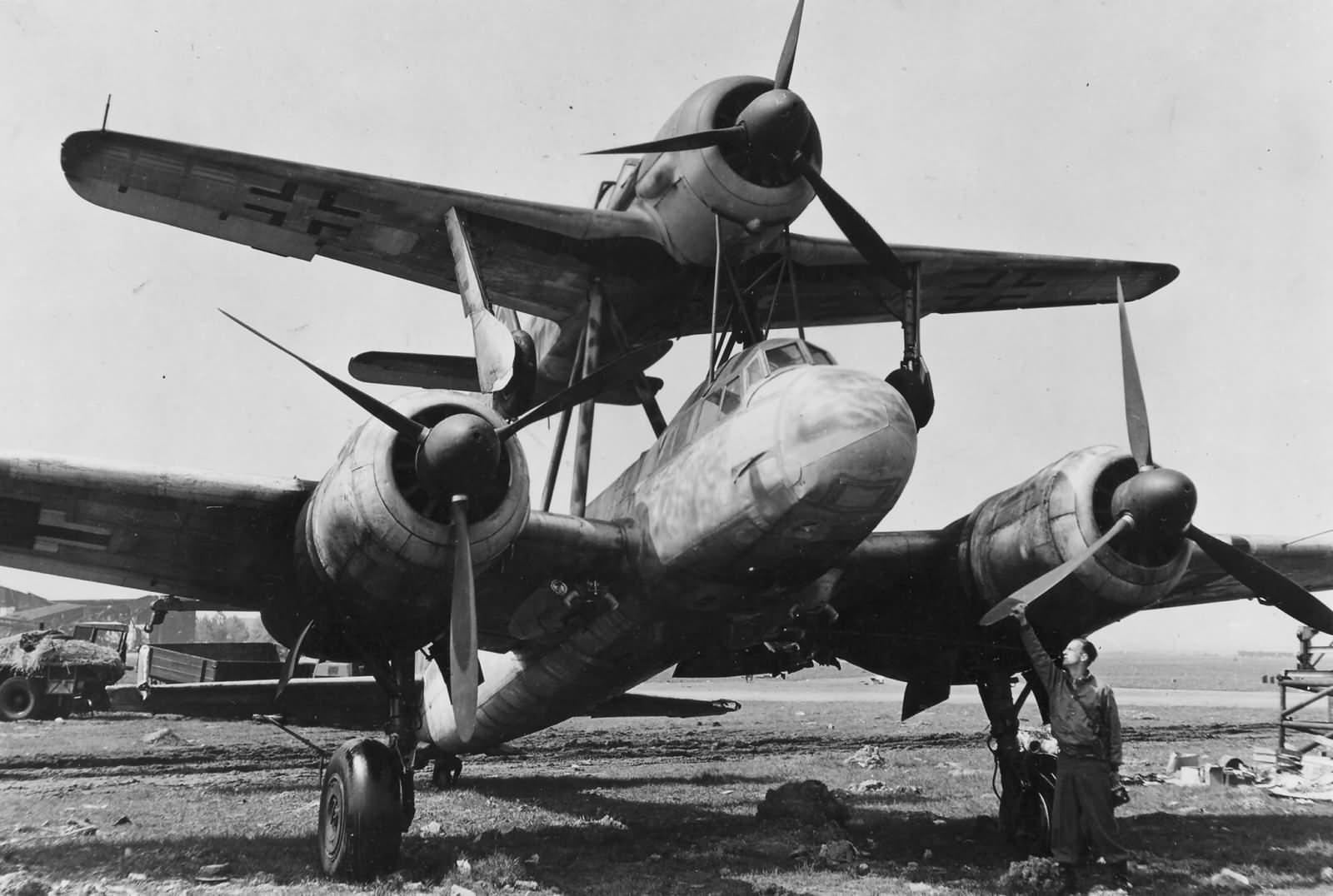 Mistel Ju88 + Fw190 Bernburg