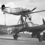 Mistel 1 Ju88 and Me109