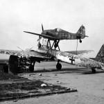 Mistel Fw190 + Ju88 590153 Merseburg Germany