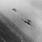 Mistel in gun camera over Belgium