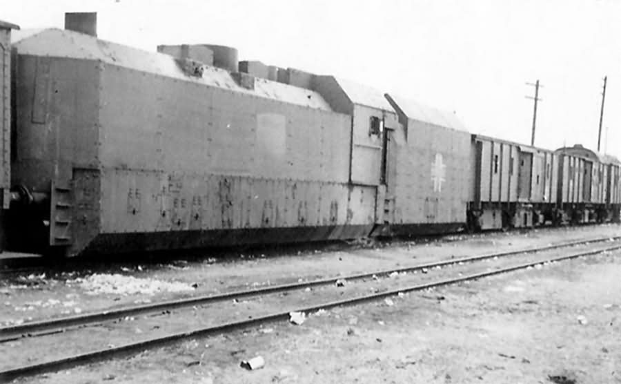 German armored train Panzerzug