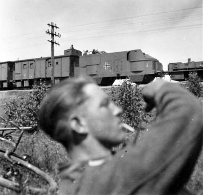 German armored train Panzerzug 2