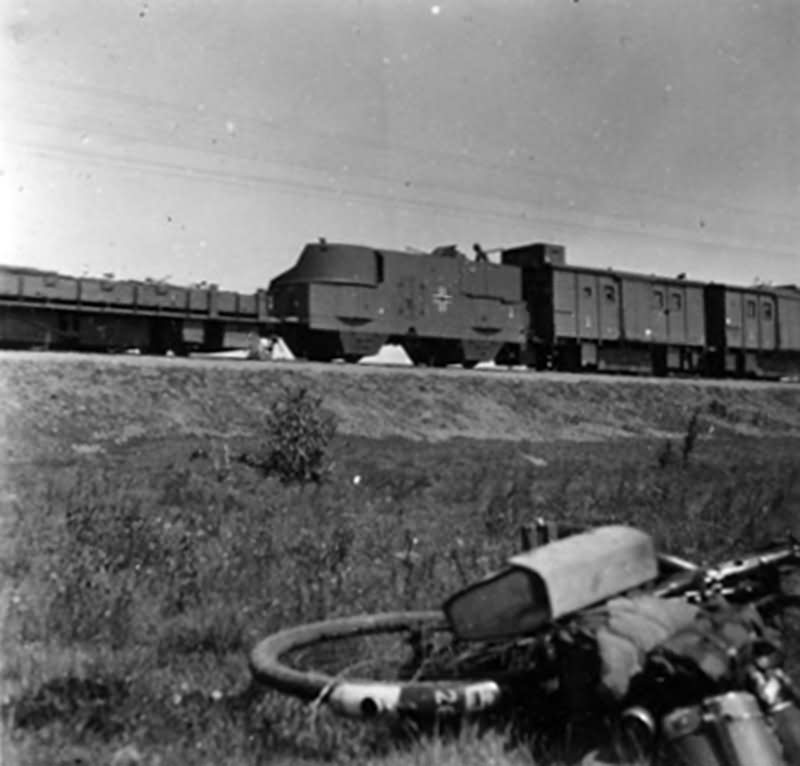 German armoured train