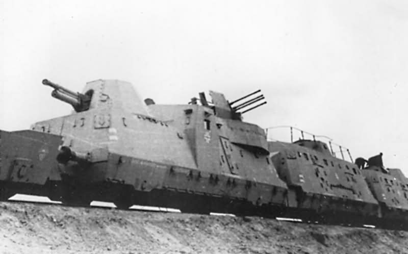 German armoured train panzerzug typ BP42 1943
