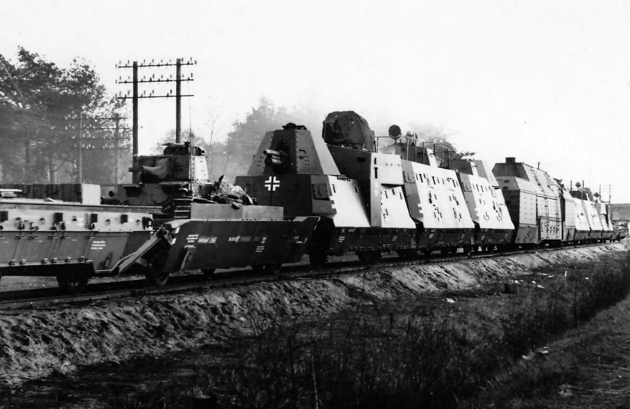 Panzerzug 61 BP42 German armored train