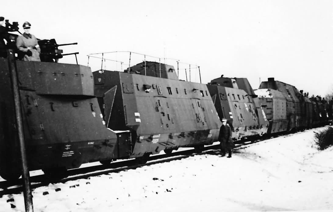 Panzerzug BP42 Kommandowagen
