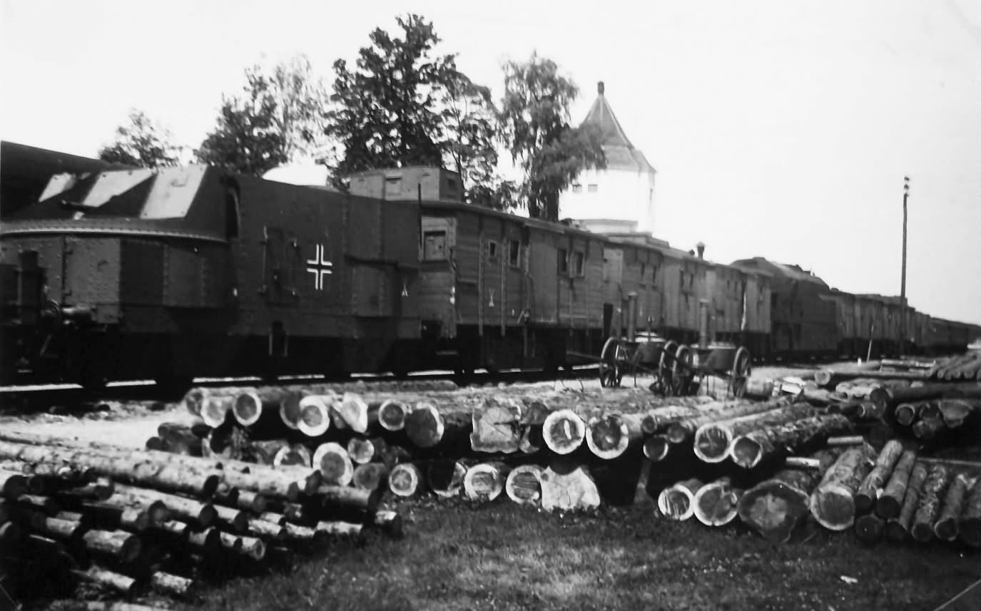 Panzerzug 24 ID Domanow Russia