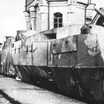 Captured soviet armoured train