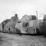 Destroyed russian armored train 4