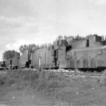 Destroyed russian armored train 7