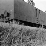 German armored train