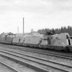 German armoured train Panzerzug BP42 eastern front