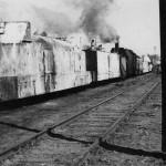 German armoured train Panzerzug in Russia