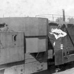 Panzerzug Flakstand (AA) eastern front 1942