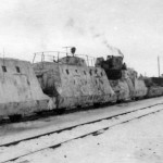 Panzerzug german armored train winter camouflage 2