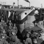 Panzerzug with Totenkopf