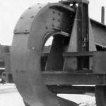 Schienenwolf (Schwellenpflug) - railroad plough
