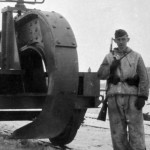 Schienenwolf (Schwellenpflug) Ostpreussen 1944 - 1945