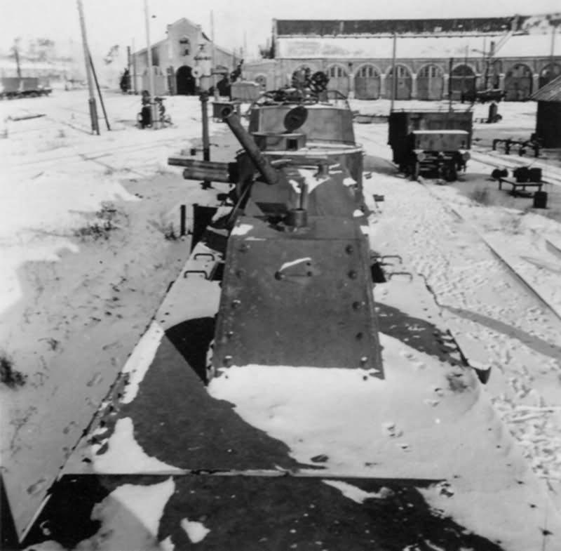 ex soviet armoured train Panzerzug Ostfront