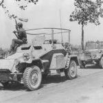 Captured SdKfz 261 Italy 1943