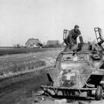Destroyed SdKfz 221 Poland 1939