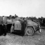 SdKfz 221 armoured car