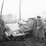 SdKfz 221 german armored car