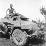 SdKfz 221 light armored car
