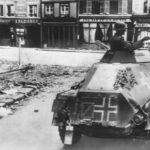 SdKfz 221 moving into Abbeville