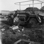 SdKfz 223 armoured radio car