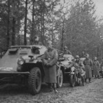 Sd Kfz. 260 and 221 in Poland 24 Panzer Division