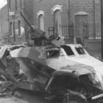destroyed SdKfz 222