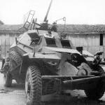 sdkfz 222 destroyed afv