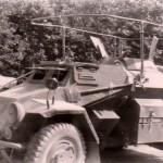 SdKfz 223 Panzerfunkwagen 4