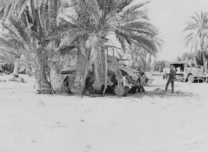 Afrika korps Sdkfz 232